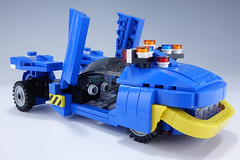 Police_Spinner_08 (kaba_and_son) Tags: blade runner police spinner lego cockpit デッカード ガフ ポリススピナー ブレードランナー レゴ bladerunner policespinner