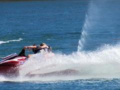 Big turn (thomasgorman1) Tags: watercraft waverunner splash fun recreation river arizona colorado people turning outdoors pwc