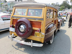 20160819 Californie Pacific Grove - Concours Auto Rally - Ford Super DeLuxe Woody Station Wagon -(1948)-001 (anhndee) Tags: usa californie california pacificgrove classiccars voituresanciennes