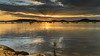 Sunrise and Clouds - Waterscape over the Bay (Merrillie) Tags: daybreak crepuscularrays dream water sunrise brisbanewater bay nature dawn reflections tascott light boats background newsouthwales clouds koolewong nsw scene coastal scenery beautiful travel view scenic color sky waterscape australia coast landscape centralcoast