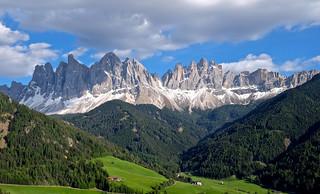 die Geisler Gruppe Südtirol