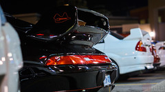 Funky Monkey Cars & Coffee 2017 (chaozbanditfoto) Tags: markham ontario canada funkymonkey porsche 911 993 carrerars 911carrera mitsubishi lancer evolution evo5