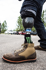 0 Moses wearing Bates Boots - photo by Jason Goodrich