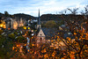 AUTOMN - Luxembourg (-MDCe) Tags: grund luxembourg ville city border frontière automne fall colors nightphotography night nikon europe castle fort river alzette saturday blue rampart rempart oldtown basse villebasse trip roadtrip trees cave stone oldbuilding oldcastle history season