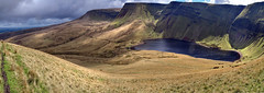 Walking Round Llyn Fan Fach (Nikki M-F) Tags: breconbeacons countryside hills uk wales lake llynfanfach