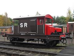 IMG_7755 - SR Pill Box Brake Van 55577 (SVREnthusiast) Tags: severnvalleyrailway svr severnvalley severn valley railway autumngala2017