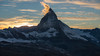Matterhorn Sunset (5AAAAM) Tags: matterhorn zermatt swiss switzerland art landscapes landscape landmark toblerone mountain mountains sun set sunset alps travel adventure gornergrat 3100gornergrat trekking sky nature outdoor nikon nikond800 d800 cloud twilight goldenhour golden