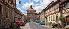 Königsberg in Bayern (wernerfunk) Tags: tor bayern