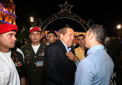 "PM Schotte meets with Hugo Ch†vez in Nicaragua • <a style=""font-size:0.8em;"" href=""http://www.flickr.com/photos/137313818@N05/36823463274/"" target=""_blank"">View on Flickr</a>"