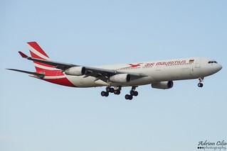 Air Mauritius --- Airbus A340-300 --- 3B-NBD