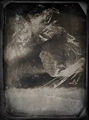 Bread-11594 (Poetic Medium) Tags: bread stilllife blackandwhite snapseed kitcamghostbird vintagescene texture ipod food