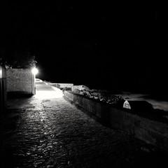 Night by the Sea (ucn) Tags: mallorca night nacht calaratjada calarajada weltaweltax tessar filmdev:recipe=11610 rolleirpx100 agfastudional film:brand=rollei film:name=rolleirpx100 film:iso=100 developer:brand=agfa developer:name=agfastudional
