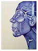 Blue-25 (Rebecca_Cruz) Tags: drawing ballpoint pen illustration futurism futurist