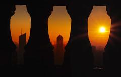 Sunrise (Laetitia de Lyon) Tags: fujifilmxt10 lyon leverdujour leverdusoleil sunrise fourvière incity crayon