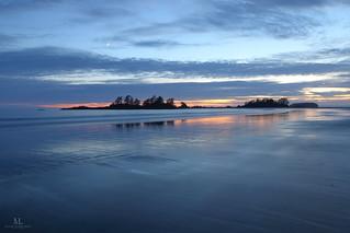 Chesterman beach at sunset