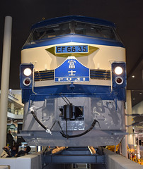 JNR Class EF66 electric locomotive of 1974 (SteveInLeighton's Photos) Tags: october 2017 japan museum kyoto locomotive narrowgauge railroad railway electric jnr
