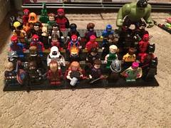 Marvel display (Mr.GreenBrick) Tags: