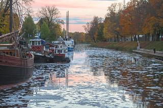 The twilight river