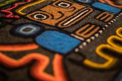 Pachamama (OzzRod) Tags: pentax k1 hdpentaxdfa28105mmf3556 design pattern colours cushion inca pachamama bokeh uncropped dailyinoctober2017