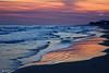 QUANDO NON C'E' ANCORA IL SOLE (Salvatore Lo Faro) Tags: alba natura nature mare sole sabbia spiaggia blu rosso nuvole riflessi rodi garganico puglia italia italy lidodelgargano salvatore lofaro nikon 7200