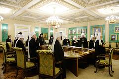 12. Заседание Священного Синода РПЦ от 6 октября 2017 г