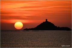 L'archipel des Sanguinaires (arno18☮) Tags: corse france nature soleil sanguinaires ajaccio mer rouge jaune nuages nikond810 artofimages nwn sunset