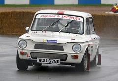 1968 Sunbeam Imp Sport (WGU 678G) 1000cc - Donington Rally 2017 - Donington Park (anorakin) Tags: wgu678g sunbeam imp impsport sunbeamimp hillmanimp doningtonrally doningtonpark
