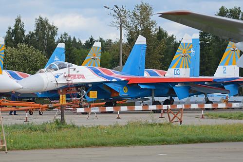 Sukhoi Su-27P '03 blue'