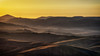 Tuscan Layers (der_peste (on/off)) Tags: sunrise dawn tuscany vald´orcia layers landscape mist fog italy hills toskana italien cypress zypressen