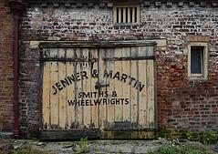 Smithy Door (Mr_Pudd) Tags: decay bricks door blacksmith smithy jennerandmartin