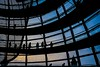 The only way is up (agruebl) Tags: berlin germany deutschland fuji fujixpro2 reichstag dome reichstagkuppel reichstagdome sunset sonnenuntergang schattenriss silhouette gegenlicht contrejour sky himmel