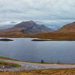 Lochan an Ais at Knockan Crag thumbnail