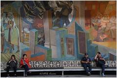 Oslo rådhus (mariadoloresacero) Tags: mujeres hombres pintura picture peinture mural principal hall mairie ayuntamiento rådhus norvège norway noruega oslo