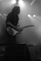 """Chausse Tes Tongs 2017"" (The Blue Water Lily's Company) Tags: fdrouet nb bw monochrome monochrom film analog nikon kodak chaussetestongs festival bretagne brittany rachidtaha muiscien guitariste guitarplayer concert yan péchin"