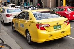 Toyota Camry 2012 model (CooverInAus) Tags: number license plate australia melbourne victoria toyota camry taxi