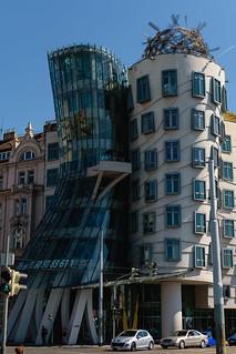 Prague / La maison dansante / Tančící dům