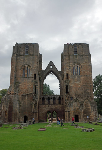 2017-08-26 09-09 Schottland 481 Elgin, Cathedral