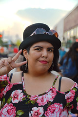 Peace from Claudia (radargeek) Tags: plazadistrict 2016 september liveattheplaza portrait claudia