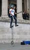 Street Entertainment (Treflyn) Tags: juggling razor sharp implements unicycling balancing hamster one foot trafalgar square london street entertainment