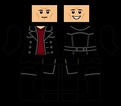 Ninth Doctor (LEGO + Decals, Variant 2) (Jason Wacker) Tags: doctorwho doctor who christophereccleston christopher chris eccleston chriseccleston ninthdoctor nine ninth lego decals thedoctor 9th 9