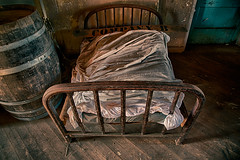 Sleeping Quarters (Stefan Schafer) Tags: urbex prestoncastle urbanexploration decay urban old exploration vintage california ione schoolofindustry rehabilitation reformatory bed sleeping