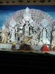 Durga Puja (Nirbanjyoti das) Tags: goddes god culture pandel puja durga hindu hindusuim west bengal wb bangali bengali worship maa deity photography nirban jyoti das dibya harsha harsa jit jeet idol photo images img pic pics celebrate celebration divinity navratri pandal mahalaya festival thakur pratima ashtami bipadnashini devi goddess