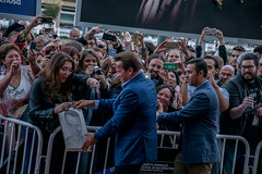 Arnold Schwarzenegger greets fans (Joshua Mellin) Tags: arnoldschwarzenegger arnold schwarzenegger movies wondersofthesea3d wondersofthesea narrator sansebastianinternationalfilmfestival sansebastianfestival festivaldesansebastian donistiazinemeldia zinemeldia 65 65th 2017 basque basquecountry paisvasco euskadi spain filmfestival redcarpet celebrity governator terminator new movie film celebrities gossip son networth best actionstar actionmovies predator totalrecall twitter instagram truelies twins triplets thelastactionhero kindergartencop mrfreeze batmanrobin eraser terminator2 terminator2judgementday judgementday terminator6 premiere suit terminatorring ring star governor california governorofcalifornia cali republican travel europe joshuamellin blogger photographer editor