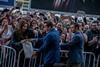 Arnold Schwarzenegger greets fans