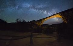 Midnight At Owachomo Bridge (WJMcIntosh) Tags: owachomobridge milkyway naturalbridgesmonument utah southwest astrophotography