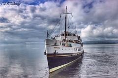 MV Balmoral leaving Helensburgh (CLSClark) Tags: boattrip boat scotland helensburgh mvbalmoral