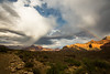 Sunshine & Rainbows (EMaryannHazel) Tags: doublerainbow grandcanyon panoramapoint brightangeltrail thunderstorm indiangardens rimtorim arizona magiclight