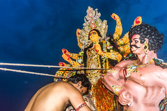Adieu | Durga Puja Immersion,Kolkata,2017 by vjisin - My Portfolio links Instagram | Behance | Facebook