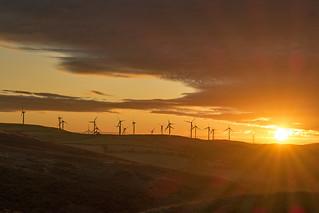 Dawn Over Mynydd y Gaer