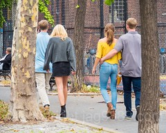 Couples on Chrystie Street, Lower East Side, Manhattan, New York City (jag9889) Tags: 2017 20171014 couple dress fashion les lowereastside lowermanhattan manhattan ny nyc newyork newyorkcity outdoor pedestrian people streetscene usa unitedstates unitedstatesofamerica walking woman jag9889 us
